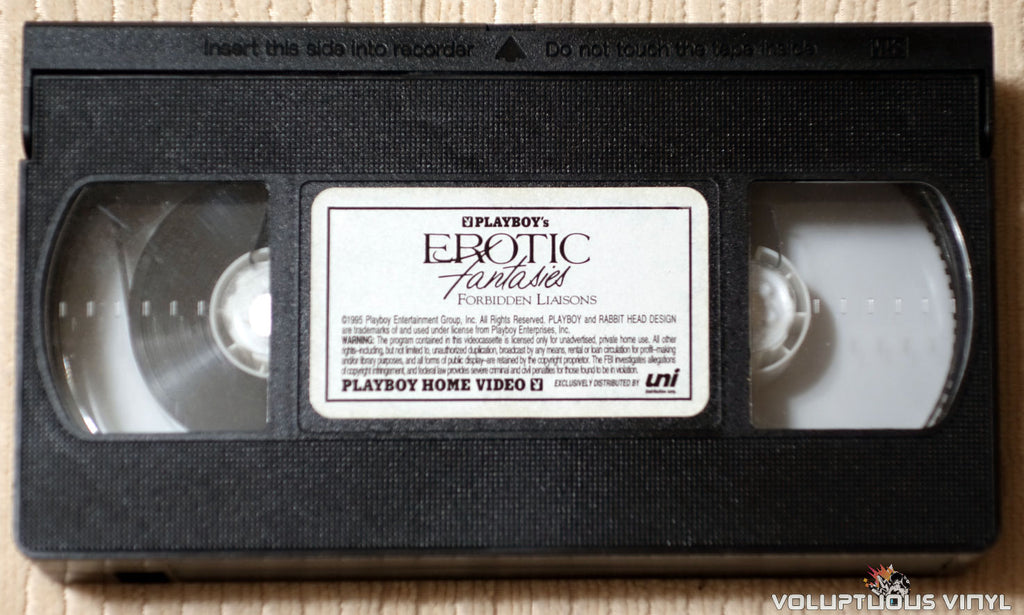 Playboy: Erotic Fantasies IV: Forbidden Liaisons - VHS Tape