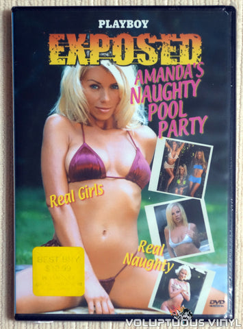 Playboy Exposed: Amanda's Naughty Pool Party - DVD - Front Cover