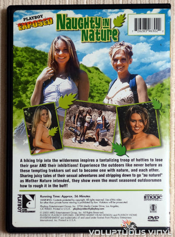Playboy Exposed: Naughty In Nature - DVD - Back Cover