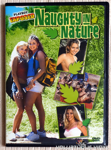 Playboy Exposed: Naughty In Nature - DVD - Front Cover