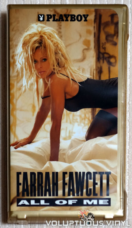 Playboy: Farrah Fawcett All Of Me - VHS - Front Cover