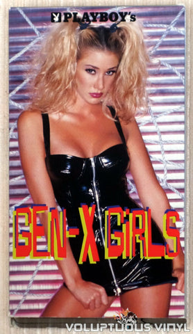 Playboy's Gen-X Girls - VHS Tape - Front Cover