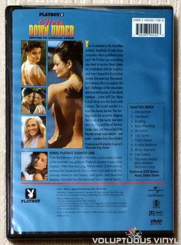 Playboy: Girls Down Under - Surviving The Australian Outback - DVD - Back Cover