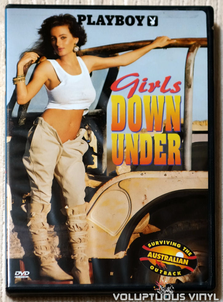 Playboy: Girls Down Under - Surviving The Australian Outback - DVD - Front Cover