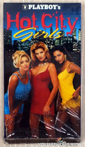 Playboy's Hot City Girls - VHS Tape - Front Cover
