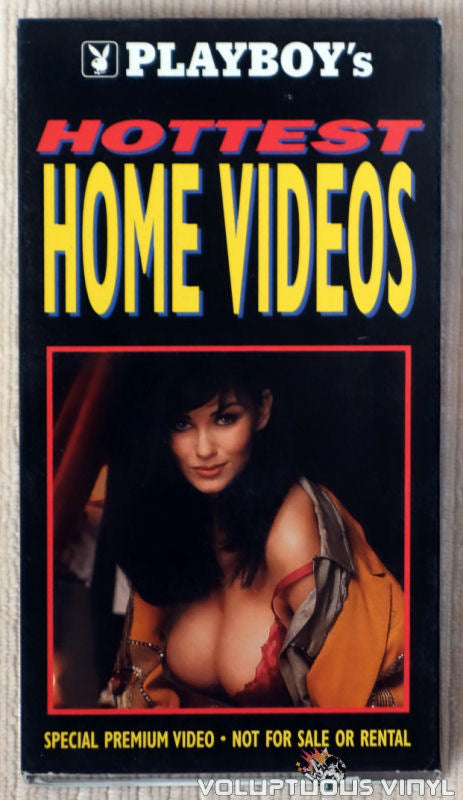 Playboy's Hottest Home Videos - VHS Tape - Front Cover