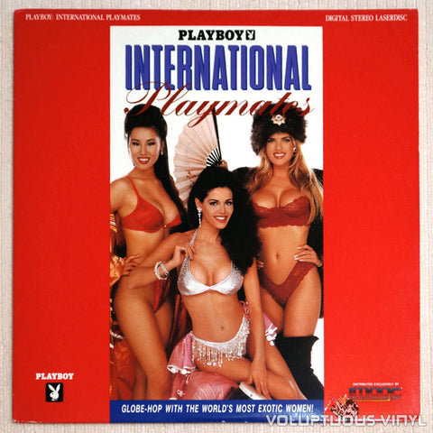 Playboy International Playmates LaserDisc Front Cover