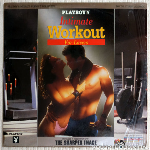 Playboy Intimate Workout For Lovers laserdisc front cover
