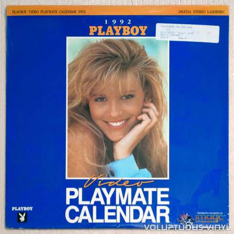 Playboy Playmate Calendar 1992 LaserDisc Front Cover