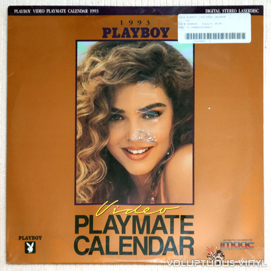 Playboy Video Playmate Calendar 1993 LaserDisc Front Cover