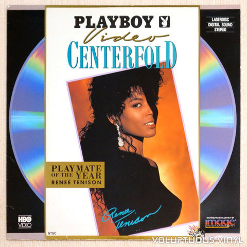 Playboy Video Centerfold Renee Tenison: Playmate of Year 1990 LaserDisc Front Cover
