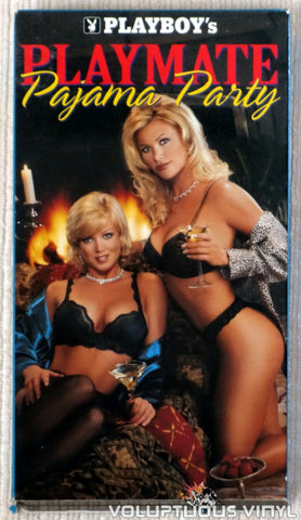 Playboy's Playmate Pajama Party - VHS Tape - Front Cover