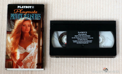 Playboy: Playmate Private Pleasures - VHS Tape