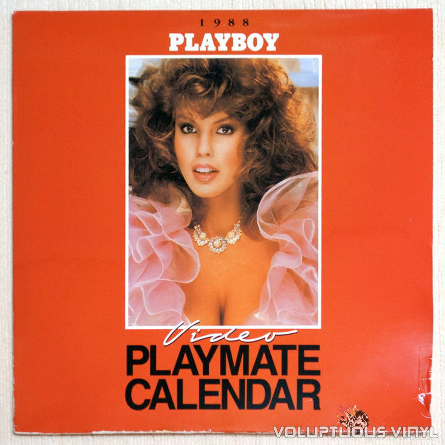Playboy Video Playmate Calendar 1988 LaserDisc Front Cover