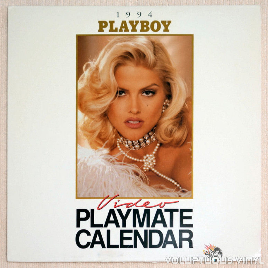 Playboy Video Playmate Calendar 1994 Anna Nicole Smith LaserDisc Front Cover