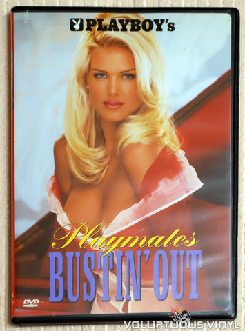 Playboy's Playmates Bustin' Out - DVD - Front Cover