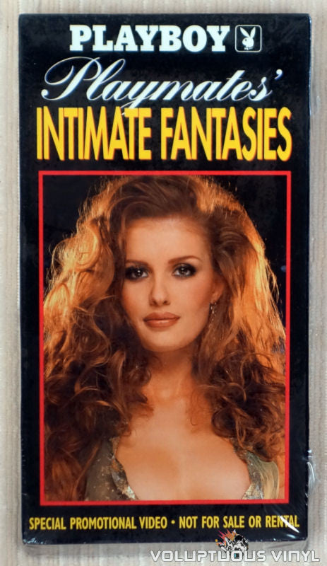 Playboy: Playmates' Intimate Fantasies - VHS Tape - Front Cover