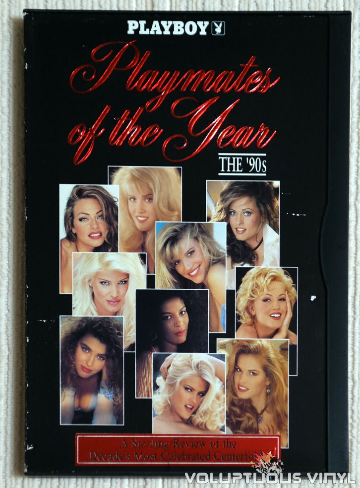 Playboy: Playmates Of The Year The 90's - DVD - Front Cover