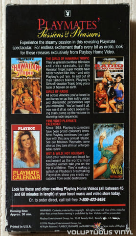 VHS: NM / VG+ - Playmates' Passions & Pleasures