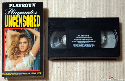 Playboy: Playmates Uncensored / Playmates' Sexy Surprises - VHS Tape