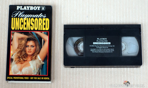 VHS - NM/EX - Playmates Uncensored