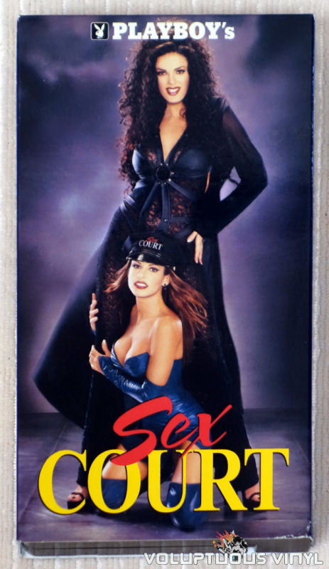 Playboy's Sex Court - VHS Tape - Front Cover