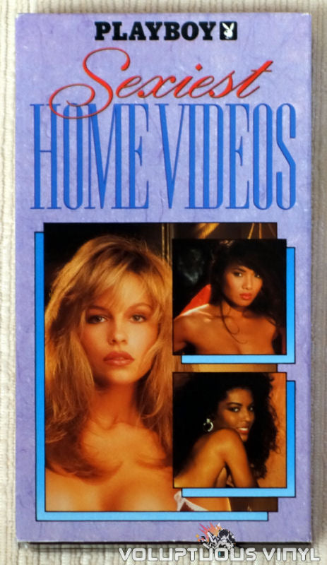 Playboy: Sexiest Home Videos - VHS Tape - Front Cover