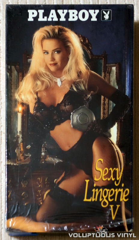 Playboy Sexy Lingerie V - VHS - Front Cover