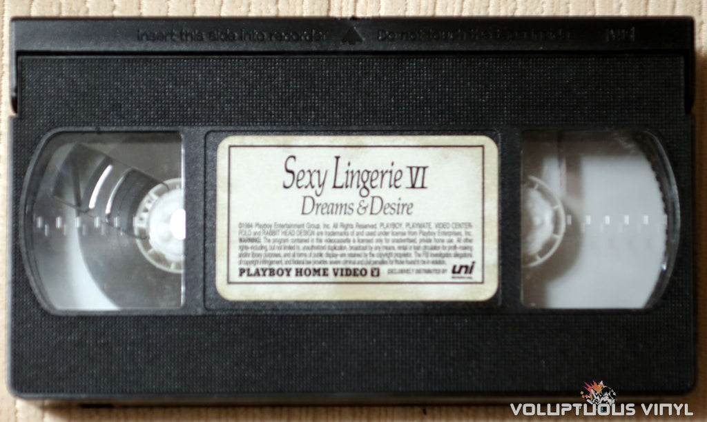Playboy Sexy Lingerie VI: Dreams & Desire - VHS Tape