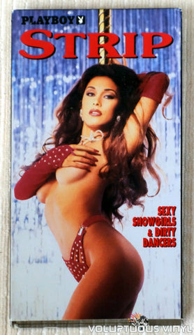 Playboy: Strip, Sexy Showgirls & Dirty Dancers - VHS Tape - Front Cover