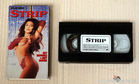 Playboy: Strip, Sexy Showgirls & Dirty Dancers - VHS Tape