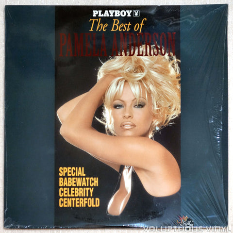 Playboy The Best of Pamela Anderson - Laserdisc - Front Cover