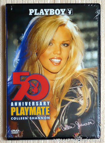 Playboy Video Centerfold: 50th Anniversary Playmate Colleen Shannon - DVD - Front Cover
