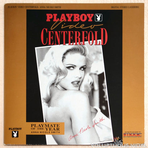 Playboy Video Centerfold: Anna Nicole Smith: Playmate of the Year - Laserdisc - Front Cover