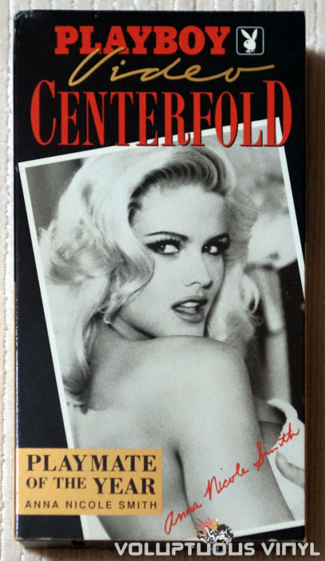 Playboy Video Centerfold: Anna Nicole Smith: Playmate of the Year - VHS - Front Cover