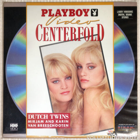 Playboy Video Centerfold: Dutch Twins: Van Breeschooten Twins - LaserDisc - Front Cover