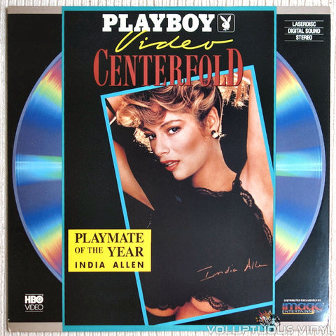 Playboy Video Centerfold: India Allen: Playmate of The Year 1988 - LaserDisc - Front Cover