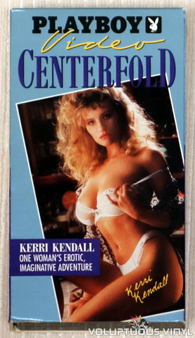 Playboy Video Centerfold - Kerri Kendall - VHS Tape - Front Cover