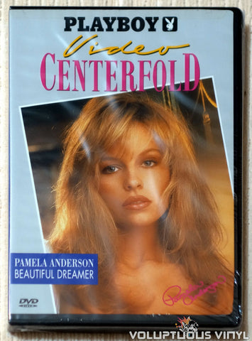 Playboy Video Centerfold - Pamela Anderson: Beautiful Dreamer DVD front cover