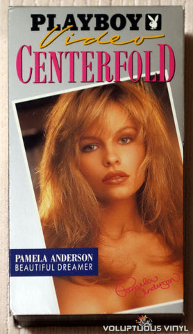 Playboy Video Centerfold - Pamela Anderson: Beautiful Dreamer - VHS - Front Cover