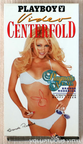 Playboy Video Centerfold: Playmate of the Year Brande Roderick - VHS Tape - Front Cover