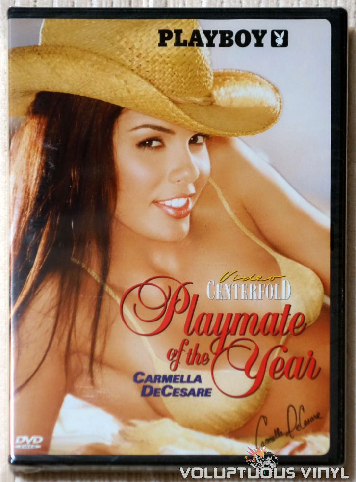 Playboy Video Centerfold: Playmate of the Year Carmella DeCesare - DVD - Front Cover