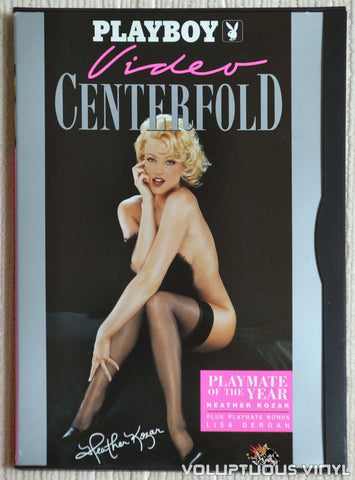 Playboy Video Centerfold: Playmate of the Year Heather Kozar - DVD - Front Cover