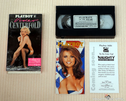 VHS - Like New - Heather Kozar Playboy