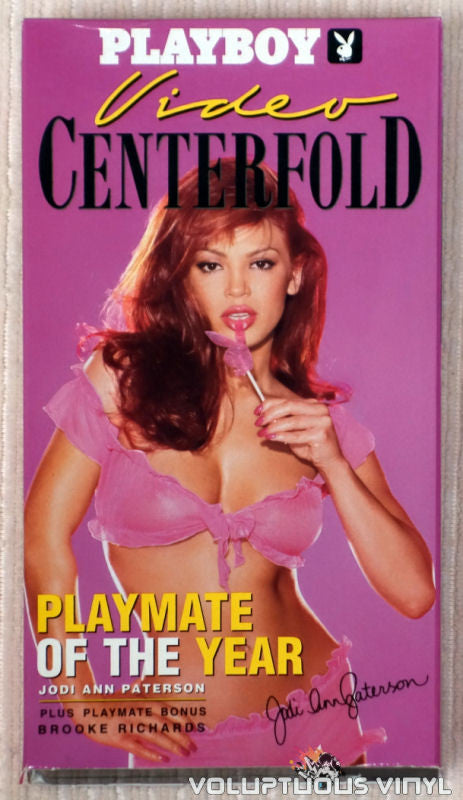 Playboy Video Centerfold: Playmate of the Year Jodi Ann Paterson - VHS Tape - Front Cover