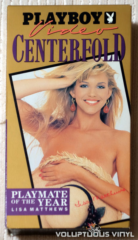 Playboy Video Centerfold: Playmate of the Year Lisa Matthews - VHS - Front Cover