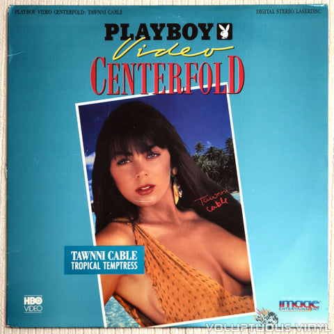 Playboy: Video Centerfold - Tawnni Cable - LaserDisc - Front Cover