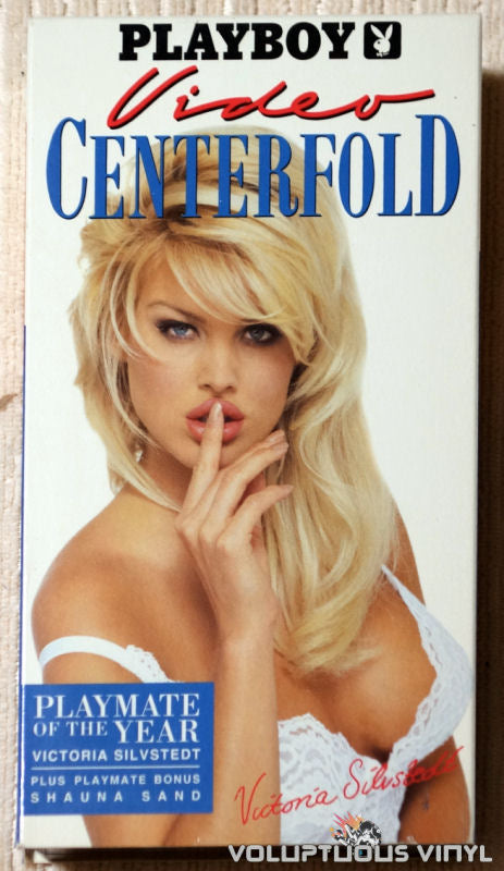 Playboy Video Centerfold: Victoria Silvstedt: Playmate of the Year - VHS Tape - Front Cover