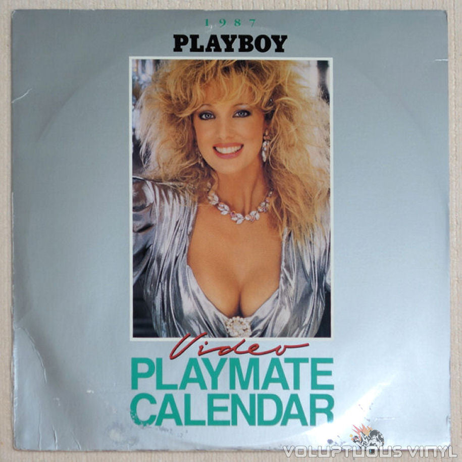 Playboy Video Playmate Calendar 1987 - LaserDisc - Front Cover