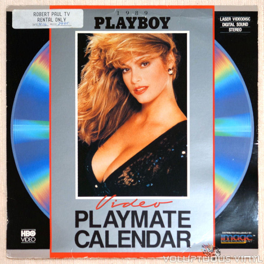 Playboy Video Playmate Calendar 1989 - LaserDisc - Front Cover